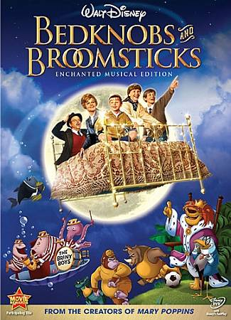 BEDKNOBS AND BROOMSTICKS:ENCHANTED MU BY LANSBURY,ANGELA (DVD)